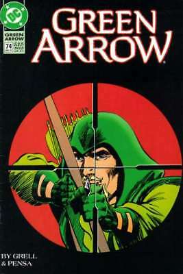 Green Arrow (1988 series) #74 in Very Fine + condition. FREE bag/board