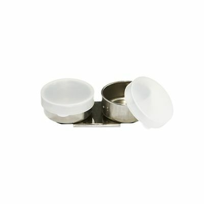 J.Burrows Double Metal Dipper with Cover