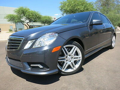 2010 Mercedes-Benz E-Class E550 Sport Sedan P2 Package Navi Pano Roof Driver Assist Keyless AMG 2013 2012 2011 e550 e350