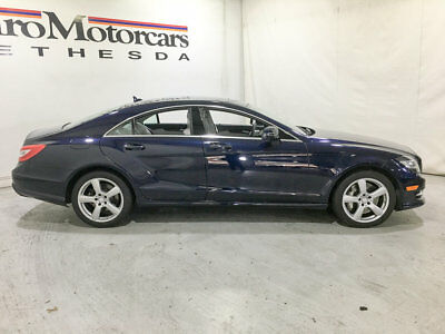 2013 Mercedes-Benz CLS-Class 4dr Coupe CLS550 4MATIC 4dr Coupe CLS550 4MATIC mercedes benz certified cls550 500 cls550 awd 4matic spo