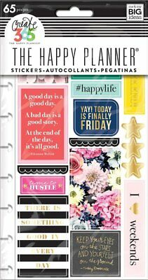 Create 365 The Happy Planner Snap in Sticker Pad, Happy Life