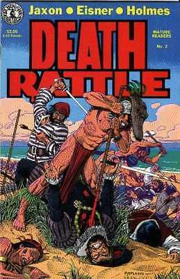 Death Rattle (1985 series) #2 in Near Mint condition. FREE bag/board