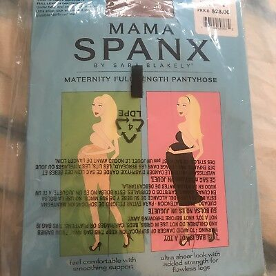 Mama Spanx Maternity Pantyhose Nude Size B Full Length