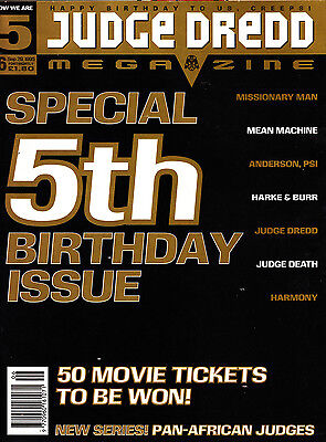 Judge Dredd Megazine  #6 Volume 3 , Sept 1995 , 2000AD , Fleetway , VERY FINE
