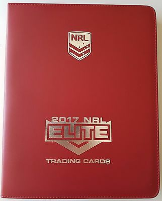 2017 ESP NRL Elite Album / Folder with Complete Full 160 Card Base Common Set