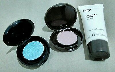 Boots no 7 make up eye shadow airbrush primer travel size beauty products