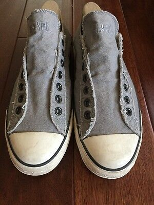 CONVERSE All-Star JOHN VARVATOS Laceless Slip on Sneakers Mens 8.5Women 10.5