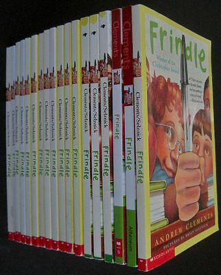 Lot 18 FRINDLE Andrew Clements Guided Reading Class Set AR RL Grade 4 5 R