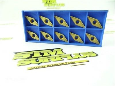 10 New Korloy Solid Carbide Indexable Inserts Vbmt332 Nc320 Coated
