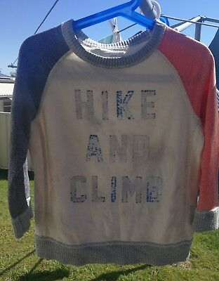 COUNTRY ROAD Size 3 boys pullover sweater jumper