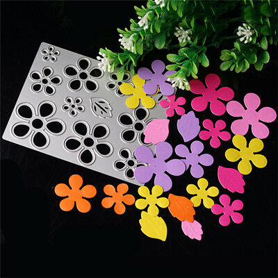 Flower Metal Cutting Dies Stencil Scrapbook Paper Cards Embossing Decor DIY