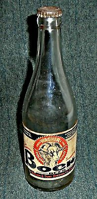 RARE 1934 Wagner Bock Beer Bottle, Wagner & Sons Brewery, Columbus Ohio