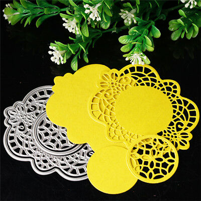 4pcs/set Metal Cutting Dies Stencil Scrapbook Paper Card Embossing Decor DIY