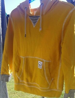 COUNTRY ROAD Size 4 boys hooded jumper / pullover