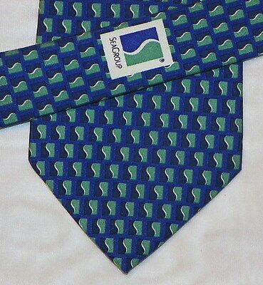 VINEYARD VINES [ CUSTOM COLLECTION ]{SEAGROUP}  men's tie 100% Silk Made in USA