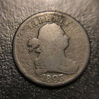 1803 Draped Bust Half Cent VG Very Good Cohen Variety Type Coin 1c