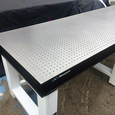 """Newport Optical Table Breadboard & Table 96"""" X 30"""" X 31"""" , 1/4-20 Taped Hole"""