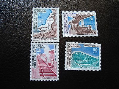 CAMEROUN - timbre yvert et tellier n° 569 a 572 n** (cam1) stamp cameroon