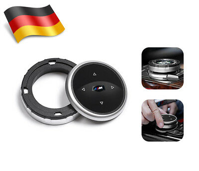 *DE* Replacement Bigger Multimedia Knob Cover IDRIVE Button For BMW M125 7 X1 X3