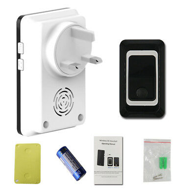 Waterproof Wireless Doorbell Door Bell 28 Chimes Songs Door Phone Intercom 300M