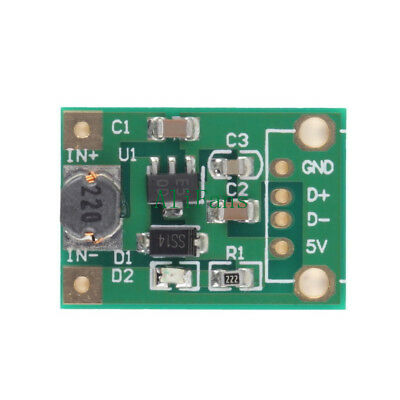 10PCS DC-DC Boost Converter Step Up Module 1-5V to 5V 500mA for Arduino