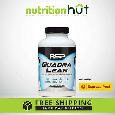 Rsp Nutrition Quadralean 150 Capsules Fat Burner Cla Weight Loss L-Carnitine