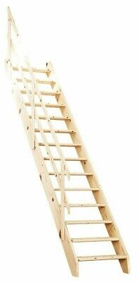 Grand Space Saving/Saver Staircase/Stairs Loft Ladder Up To 3.11m NORMANDIE