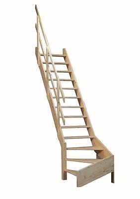 Grand Space Saving/Saver Staircase/Stairs Loft Ladder With 1/4 Turn NORMANDIE