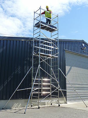 Trade Quick Erect Folding Aluminium Scaffold Tower/Towers 3m-7.2m Next Day Del!