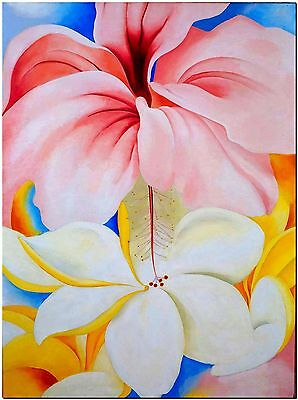 """Beautiful Hibiscus Flower Canvas Print Poster  8X12"""""""