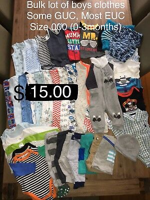 BOYS CLOTHING BUNDLE (Size 000)