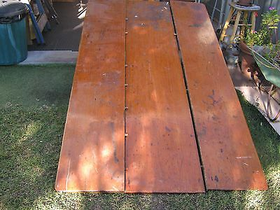 RECYCLED OLD TABLE TOP, 3 pieces