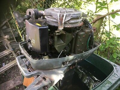 Johnson Outboard 4hp Running Spares Or Repair