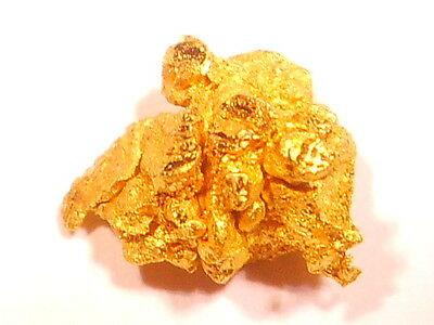 One Sparkling  Australian Gold Nugget ( 1.20 grams ) .