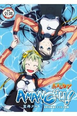 DVD Anime AMANCHU! Complete Series (1-13 End) English Subtitle Free Shipping