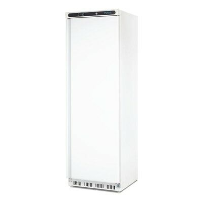 Polar Single Door Upright Freezer 365Ltr White