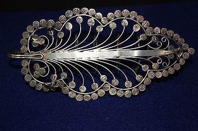 Antique 1910 Silver Toast Rack Coins British India Silver & Coin