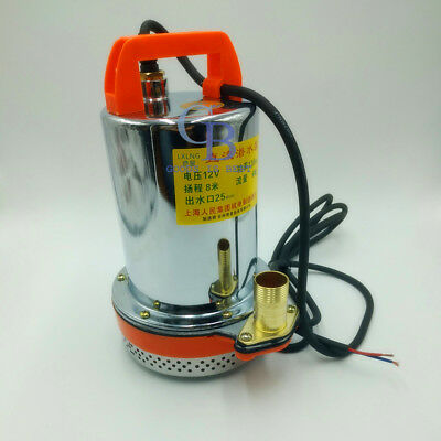 DC 12V Farm & Ranch Solar Powered 120W Submersible Water Well Pump