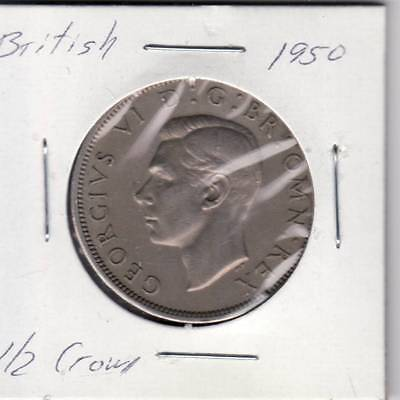 1950 1961 1963 British Half Crown