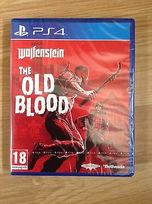 Wolfenstein - The Old Blood PS4 New & Sealed - UK PAL