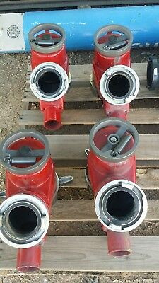 "Elkhart Firetruck Fire Fighter Piston Intake Relief Valve 6"" NH x storz"