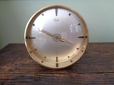 Vintage kienzle art deco clock, high quality and working!