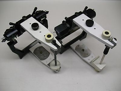 2 X Artex Semi Adjustable Dental Articulators  Amann Girrbach  Lab Wax