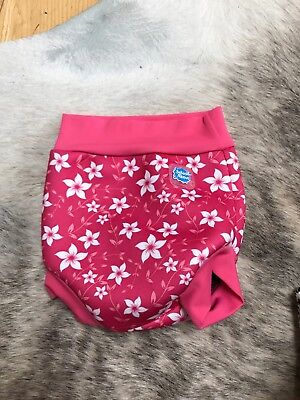 Splash About Pink Happy Nappy Size Small