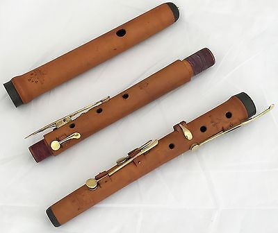 German Baroque 7 Keyed Boxwood C- Flute Joseph Schneider Regensburg-Refurbished