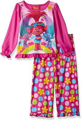 Trolls Toddler Girls 2-Piece Pajama Set Size 2T 3T 4T $36