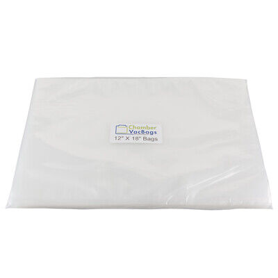 Vacuum Chamber Pouches-100 ChamberVacBags -3mil- Sous Vide -Food Storage Bags