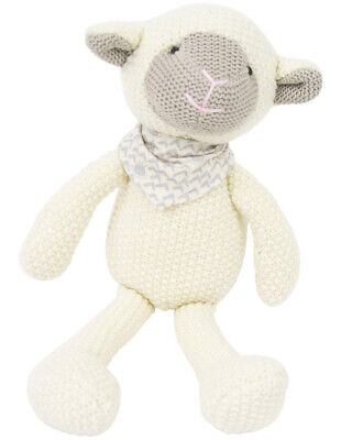NEW Weegoamigo Lamb Pearl Knit Toy Assorted