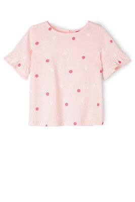 NEW Sprout Frill Sleeve Top Lt Pink