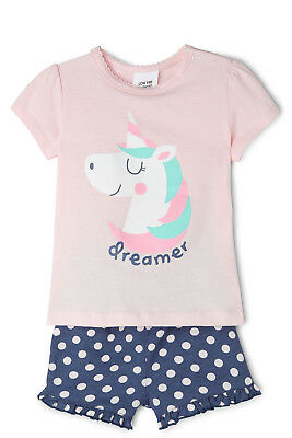 NEW Sprout Pajama Set Lt Pink